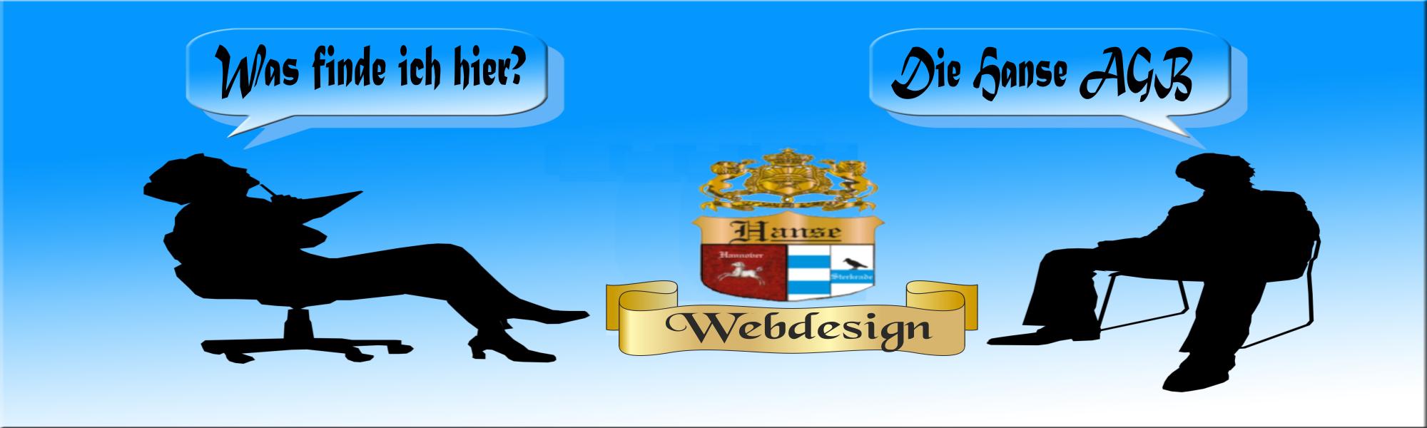 Logo  AGB der Firma Webdesign Hanse Dienstleistungen